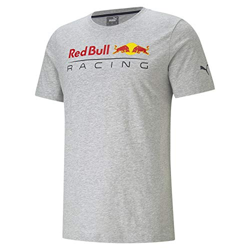 PUMA Red Bull Racing Herren T-Shirt mit Logo Light Gray Heather XXL