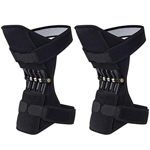 Ginocchio Booster for Gli Uomini, Le Donne 1 Paio Knee Brace Primavera Comuni di Sostegno Stabilizzatore Pad for Gli Sport Esterni, Esercizio Fisico, Arrampicata
