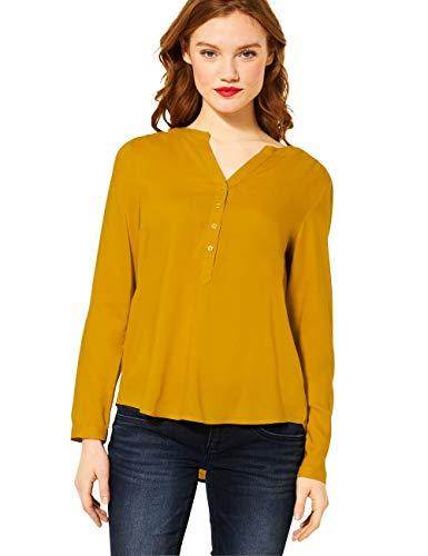 Street One Damen Style Bamika Bluse, Amber Yellow, 42