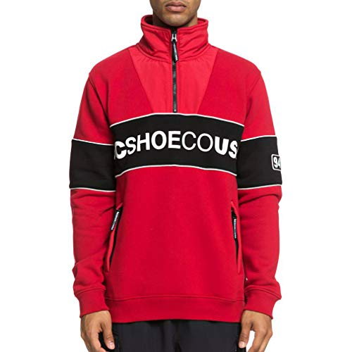 DC Shoes Clewiston - Half-Zip Mock Neck Sweatshirt for Men - Männer
