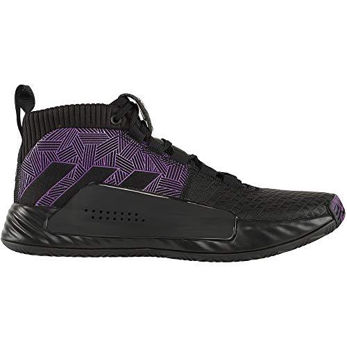 adidas Dame 5 Black Panther Mens Ef2259 Size 11