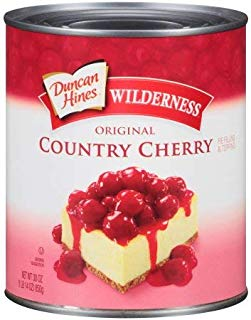 Duncan Hines, Wilderness, Original Pie Filling & Topping, Country Cherry (Pack of 14)