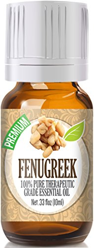 Fenugreek Essential Oil - 100% Pure Therapeutic Grade Fenugreek Oil - 10ml
