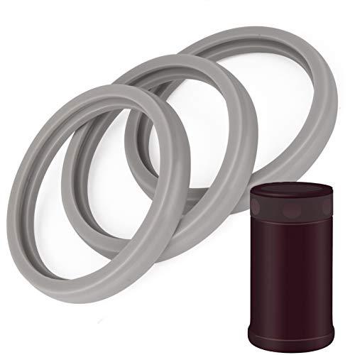 3包25盎司食品罐垫圈兼容Zojirushi食品罐垫圈o形密封圈由Impresa产品-双酚a -/邻苯二甲酸盐/无乳胶-替代25盎司容器或保温瓶