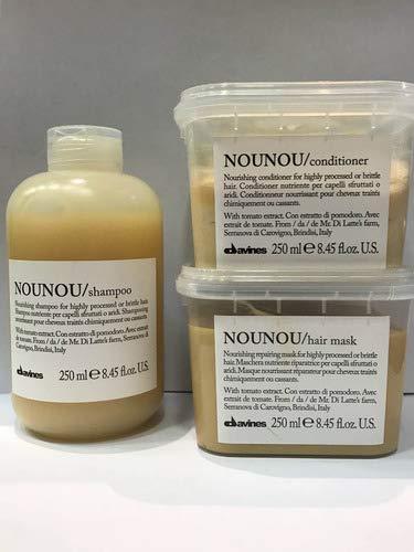 Kit Shampoo+condicionador+mascara Nounou Davines