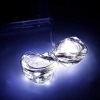 DaMohony 10m 100LEDライト ミニ ストリングライト DIY 銅線ランプ パーティー ウェディング装飾