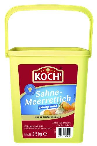 Koch's Sahnemeerrettich, 1er Pack (1 x 2.5 kg)