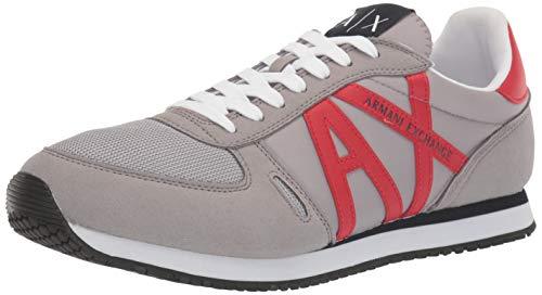 Armani Exchange Retro Running Sneakers voor heren Low-Top