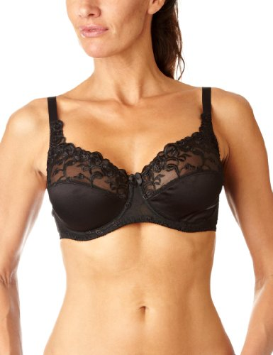 Naturana Damen Bügel-BH Everyday, Full-Cup-BH 87543 Gr. 90C, C, schwarz