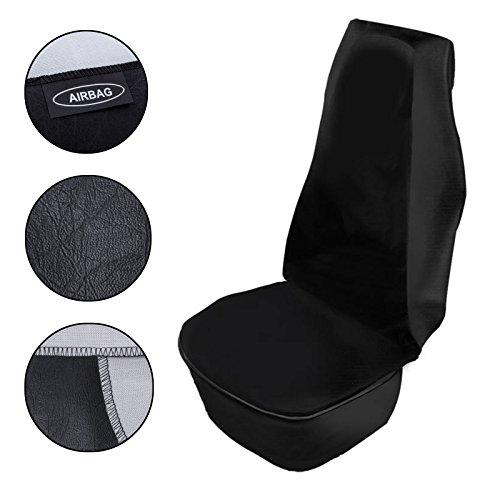 PRO PLUS Werkstatt Sitzschoner schwarz Airbag geeignet wasserdicht ölbeständig für Auto, Wohnmobil, Transporter, LKW