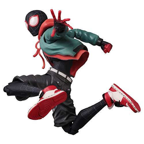 千値練 スパイダーマン:スパイダーバース SVアクション マイルス・モラレス/スパイダーマン ノンスケール ABS&PVC製 塗装済み完成品 アクションフィギュア