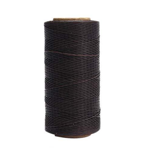 BOVER BEAUTY Encerado Trenzado del Cordón De Costura Hilo Encerado Trenzado del Cordón De Costura del Cordón para El Bricolaje Coser Cuero Alfombra