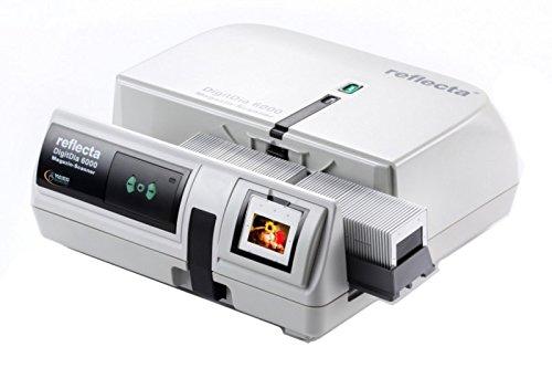 Reflecta DigitDia 6000 - Escáner de Negativos y Diapositivas, Gris