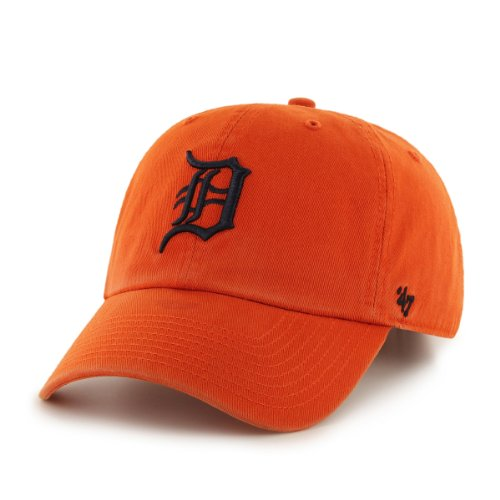 '47 Brand MLB Tigres de Detroit para Hombre Clean Up Gorra, Color...