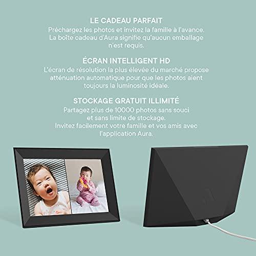 AURA Carver Smart Digital Picture Frame Product Image