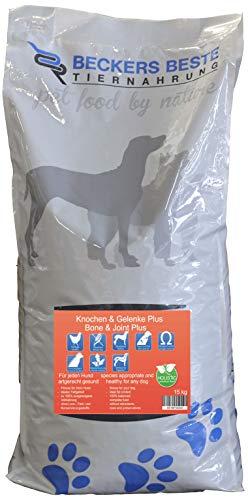 Beckers Beste - Trockenfutter Hund für Knochen & Gelenke Plus 15kg - Junghund, Adult & Senior - Hundefutter große und kleine Hunde-Rassen - glutenfrei