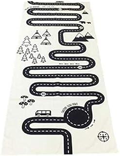 Soft Cotton Kid's Play Mat Crawling Blanket (72x170cm )