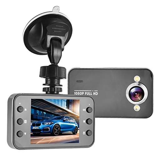 Driving recorder, 2.2-inch high-definition driving recorder, used for ultra-wide-angle night vision, loop recording, parking monitoring