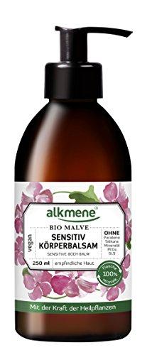 alkmene Sensitiv Körperbalsam mit Bio Malve, Bodylotion, Körperlotion, für sensible Haut, 250 ml - 2er Pack (2 x 250 ml)