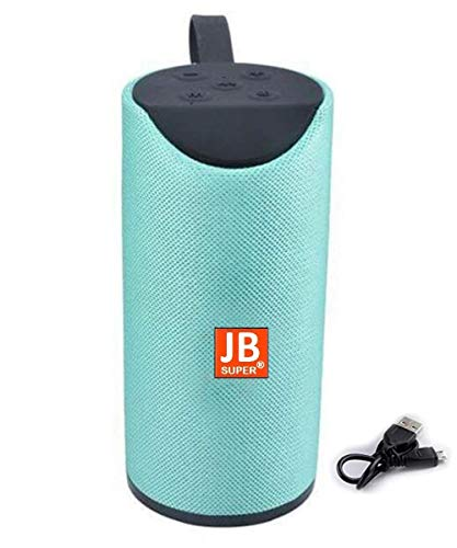 JB Super Bass Sound Wireless TG 113 Bluetooth Speaker with USB/AUX & SD Card Support Compatible with All Devices - Multi Color