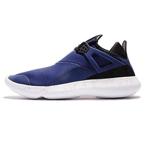 Nike Air Jordan Fly 89 Scarpe Sportive Uomo 940267 Scarpe da Tennis - Profonda Blu Reale Bianco Nero 402, 44