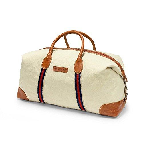 DRAKENSBERG Reisetasche, groß, handgepäck-tauglich, Eastport-Duffel-Weekender, 50 L, Canvas und...
