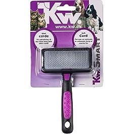 KW SMART Soft Slicker Brush, Medium, 8 x 14 cm