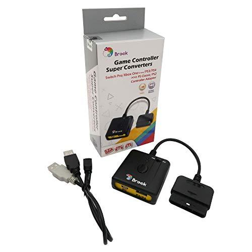 Gam3Gear Brook Super Converter Switch del controlador de juego Pro   Xbox One   PS3   PS4 a la consola PS Classic   PS2 con llavero Gam3Gear