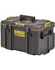 Dewalt DWST1-75522 TougHSYSTEM Organizer, 553 x 350 x 116 mm, robuust, transparant deksel, 4 grote en 8 kleine uitneembare vakken, draagvermogen tot 20 kg