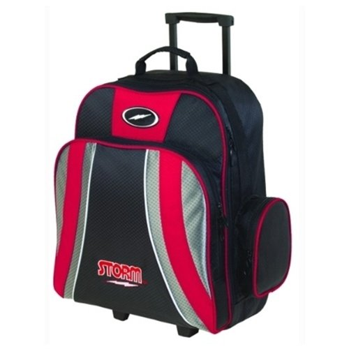 MICHELIN Storm Products Rascal 1 Ball Roller Bowling Bag, Red/Black/Silver