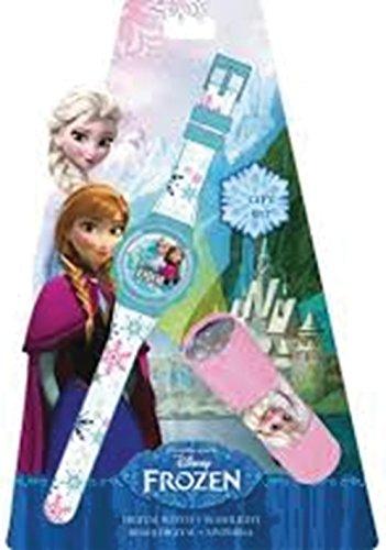 Disney Frozen Reloj y Linterna en Blíster (Kids WD16847) ⭐