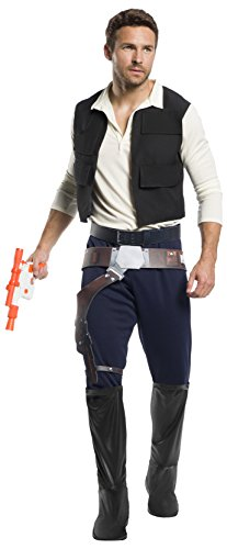 Rubie's Men's Star Wars Classic Han Solo Adult Sized Costumes, As Shown, Extra-Large US