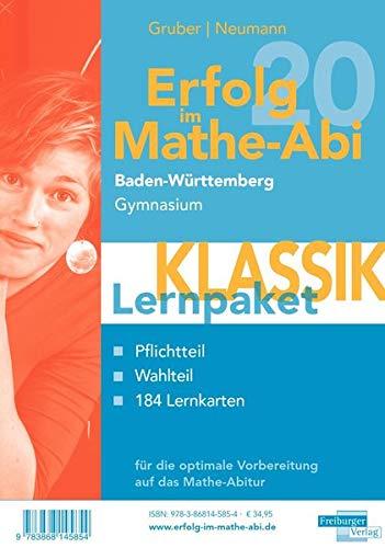 Erfolg im Mathe-Abi 2020 Lernpaket 'Klassik' Baden-Württemberg Gymnasium