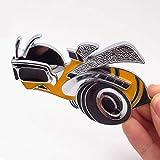 TK-KLZ 3D Metal Super Bee Bumblebee Logo Car...