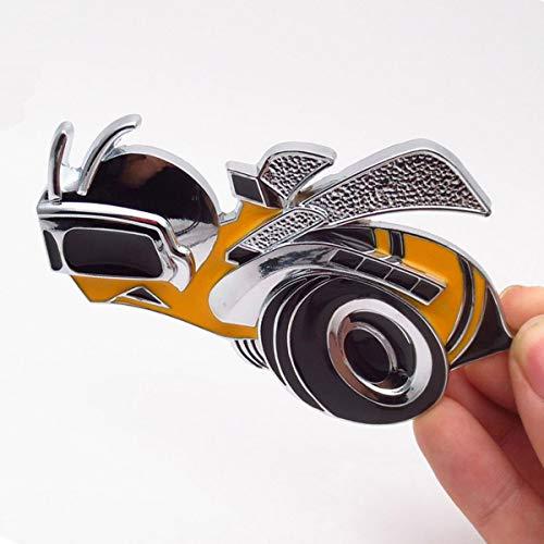 TK-KLZ 3D Metal Super Bee Bumblebee Logo Car Truck Side Fender Rear...