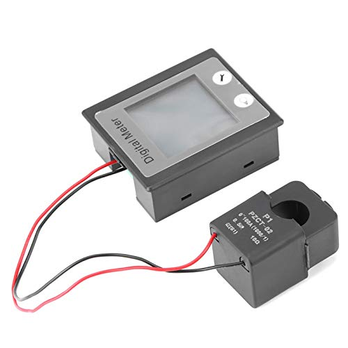 Voltímetro amperímetro Voltímetro Voltaje de corriente Watt Panel de energía AC 80-260V 100A KWh Tester STN Pantalla de visualización Amperímetro multifunción LCD para interiores