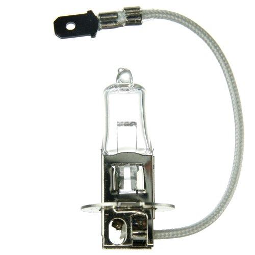 Sunlite H3-55 55W/T3.5/12V/CL/PK22s 55-watt 12-volt PK22s Based Stage and Studio T3.5 Bulb, Clear