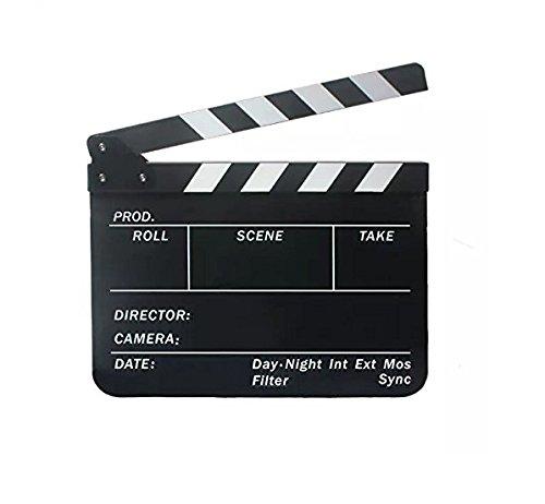 Fengh Acrylique film Action Scène Ardoise Clap Clap _ Noir