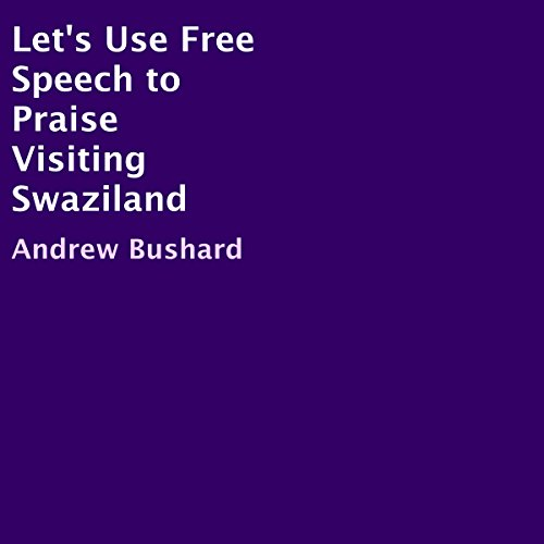Let's Use Free Speech to Praise Visiting Swaziland audiobook cover art