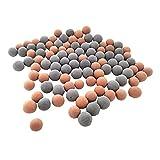 Balacoo 40 Unidades de Bolas Minerales de Acuario Bolas de Turmalina Bolas de Acuario Bolas de Tanque para Acuario de Agua Dulce Camarones Cangrejo Betta Y Peces Dorados