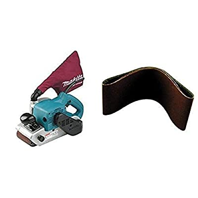 "Makita 9403 4"" x 24"" Belt Sander with Cloth Dust Bag from"