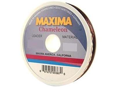 Maxima Leader Wheel (12-Pound Test ), Chameleon, 27-Yard by Maxima Fishing Line from Maxima