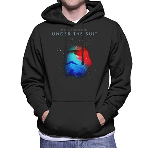 Originele Stormtrooper Onder De Pak Parodie Heren Hooded Sweatshirt