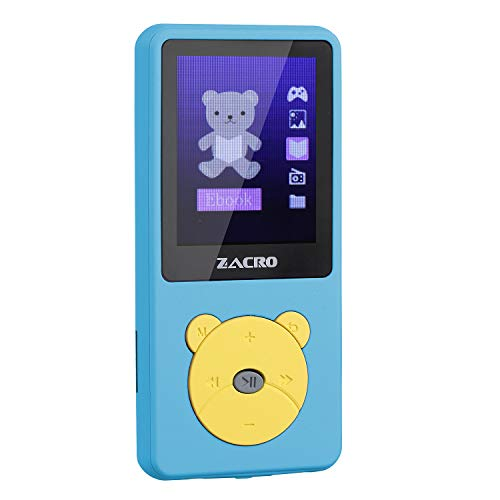 Zacro MP3 Player, Cartoon MP3 Birthday Gift Music Player for Kids, MP3...