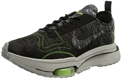 Nike Air Zoom-Type, Scarpe da Corsa Uomo, Black/Black-Electric Green-Light Bone, 42 EU