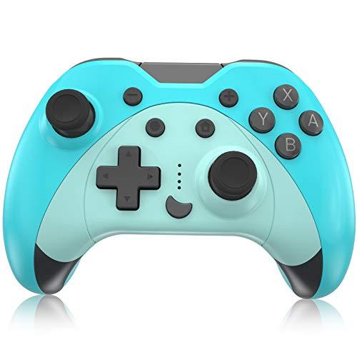 Mando para Nintendo Switch, KINGEAR Inalambrico Pro Controller Compatible con Switch/Switch Lite/PC,...