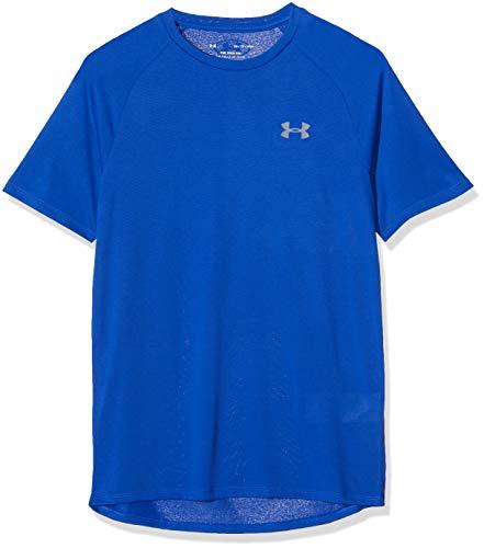 Under Armour Men's Tech 2.0 Short Sleeve T-Shirt, Royal (400)/Graphite, Medium