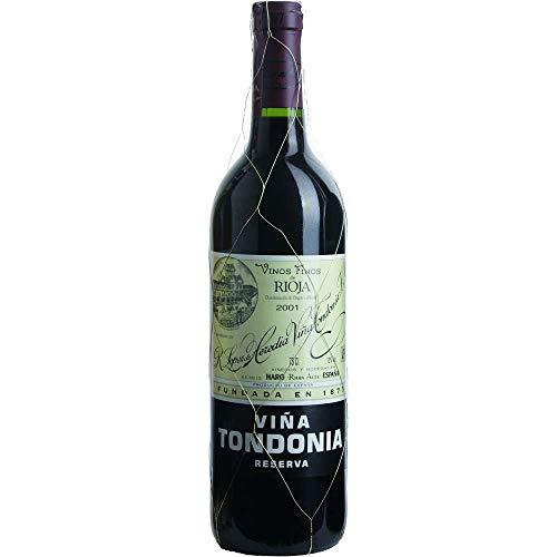 Vina Tondonia Reserva tinto 2001 Rioja Reserva DO Rotwein trocken Lopez de Heredia Vina Tondonia Spanien 750ml-Fl (170,67€/L)