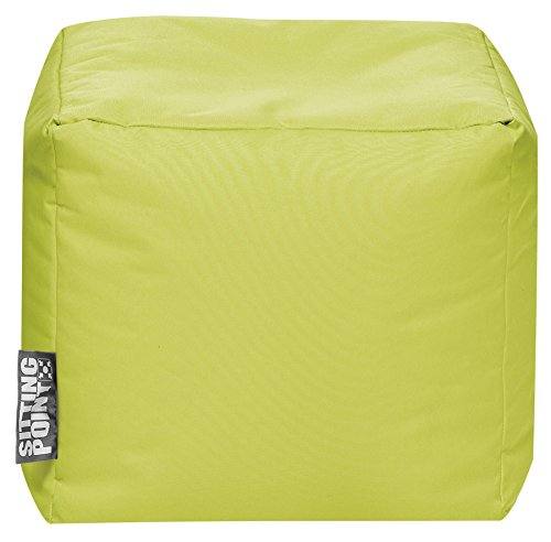 SITTING POINT only by MAGMA Sitzsack Scuba Cube 40x40x40cm grün (Outdoor)