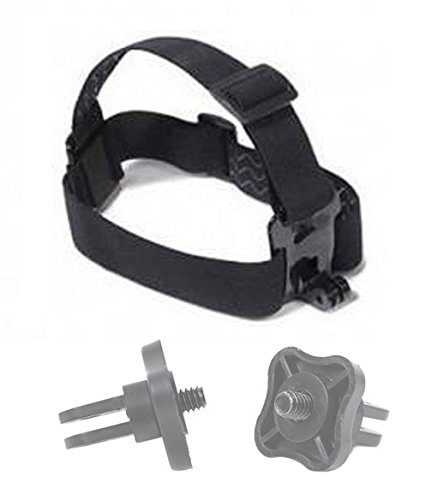 Compatible with EE 4GEE Action Cam DURAGADGET Action Camera Helmet Mount
